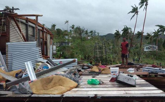 Metservice Fiji's forecast track map for cyclone Yasa. (Photo / Metservice Fiji)