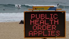 Health officials are searching for the source of the northern Sydney beaches outbreak. Photo / AP