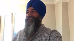 Auckland radio host Harnek Singh, 53, was stabbed in his driveway in Wattle Downs on December 23 and is in a critical condition in Middlemore Hospital. Photo / Supplied