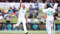 Cricket: Black Caps remain on top in first test