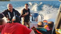 Coastguard Rotorua Lakes volunteers rushed to rescue a father and daughter after being thrown from their jetski on Lake Rotorua on Boxing Day. Photo / NZ Coastguard