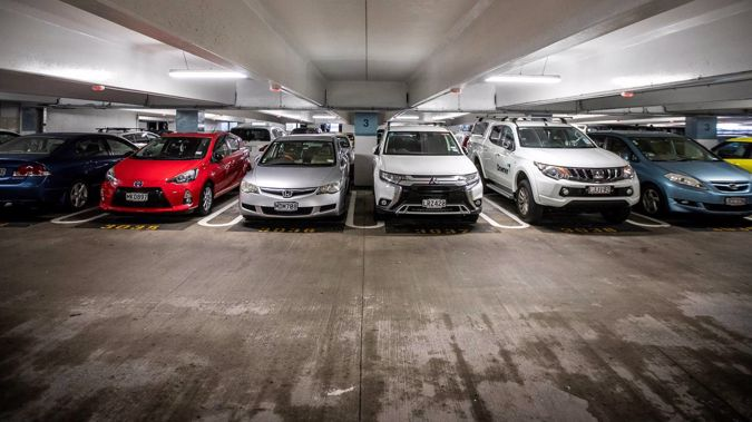 The median sale price of an Auckland car park has jumped to $95,000. Photo/Michael Craig