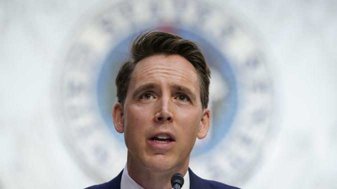 Sen. Josh Hawley, R-Mo. Photo / AP