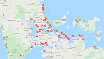 Red alert: Over 50 'high risk' swimming alerts for Auckland beaches