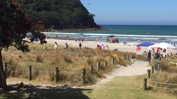 Emergency services were called to the scene at Waihi Beach about 5.10pm after reports of a woman being injured in the water, police said in a statement.