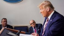 Trump considering Giuliani and Dershowitz for impeachment defence team