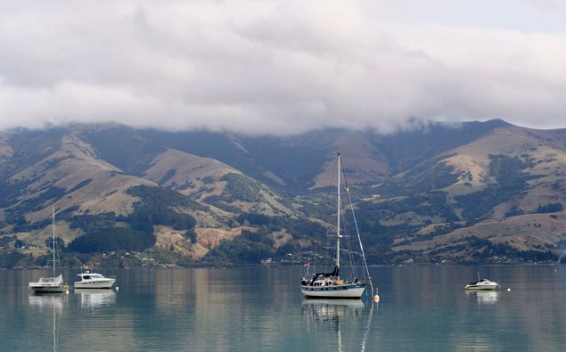 Banks Peninsula, South Island. (Photo / Getty)