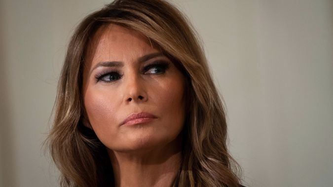 First lady Melania Trump. (Photo / CNN)