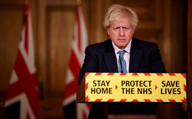 British Prime Minister Boris Johnson. (Photo / Getty)