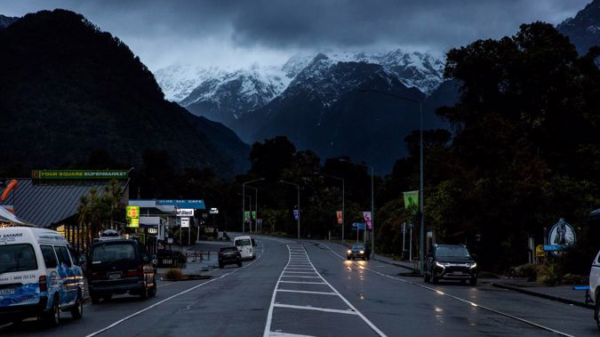 """Contractors are """"ready and waiting"""" to start work on a $24m flood protection project in Franz Josef that would create about 60 jobs, WCRC councillor Allan Birchfield says. Photo / Mike Scott"""