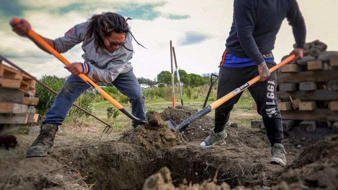 You'll dig this: Tasting twice-buried kumara fresh from a hāngī is a transformative experience. (Photo / File)