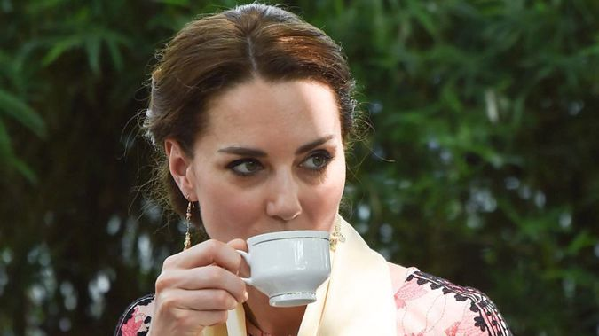 The Duchess of Cambridge got to celebrate her birthday with her very own tea party this year. (Photo / Getty)