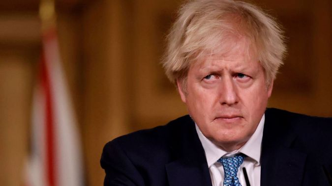Britain's Prime Minister Boris Johnson has spoken out against China. Photo / AP