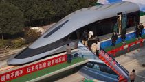 China debuts train prototype that can hit speeds of 620 kilometres per hour