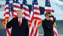 Donald Trump bids farewell to Washington, hints at comeback