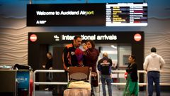 Arrivals haven't walked straight through Auckland International Airport since last April. Photo / Dean Purcell.