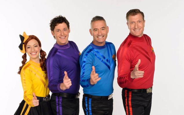The Wiggles Emma, Lachy, Anthony and Simon are facing their own hot potato after failing to get spaces in quarantine ahead of their New Zealand tour. Photo / Supplied