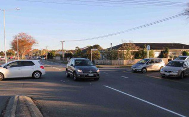 The intersection of Harwood, Breens and Gardiners Rds. Photo / Supplied