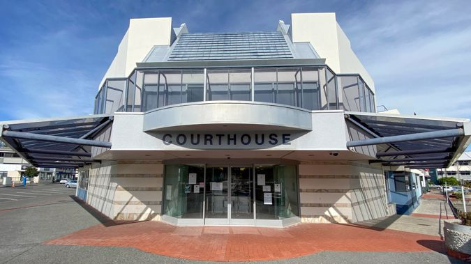 Napier Courthouse, where man with no previous convictions was on Thursday sentenced for offences against two young girls almost 50 years ago. Photo / File