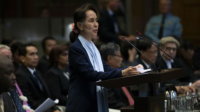 Aung San Suu Kyi. (Photo / AP)