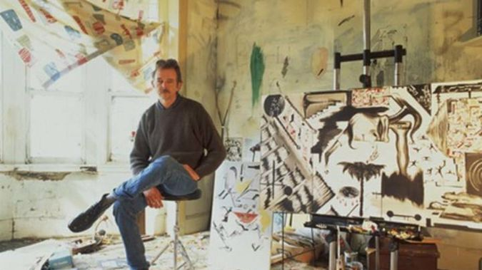 His work included themes of environments under threat, and the vulnerability of life in a precarious world. Photo / RNZ