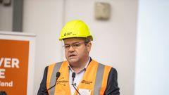 Steve Evans, Fletcher Residential chief executive. Photo / Michael Craig