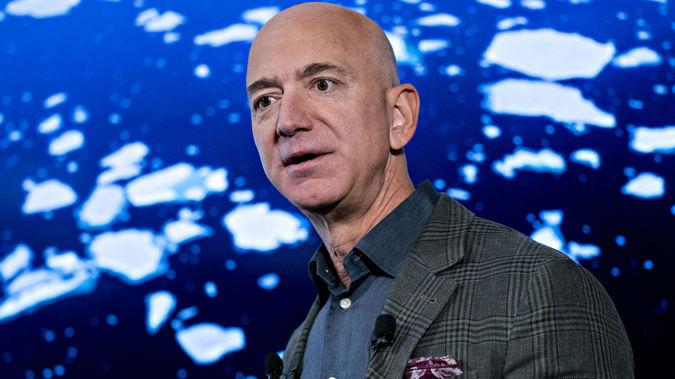 Jeff Bezos. (Photo / Getty)