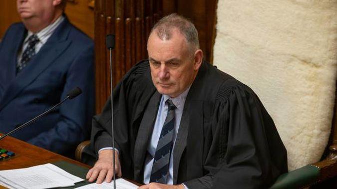Speaker Trevor Mallard. (Photo / NZ Herald)