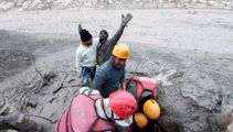 Hundreds feared dead after glacier break causes flood of water, debris