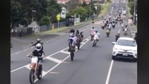 'Blatant disregard': Illegal motorcyclists take over Auckland streets