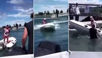 Second person arrested over viral boat rage video at Tairua Wharf