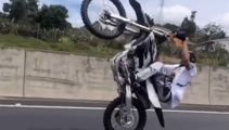 Watch: New footage emerges of Auckland dirt bike madness