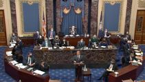 Six Republicans vote with Democrats to proceed with impeachment trial