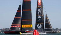Luna Rossa dominates first day of Prada Cup Final