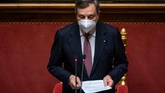 Italian Prime Minister Mario Draghi. (Photo / Getty)