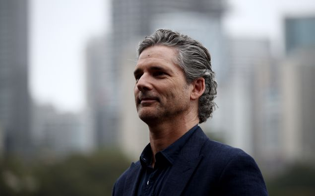 Eric Bana attends the Sydney premiere of The Dry. (Photo / Getty)