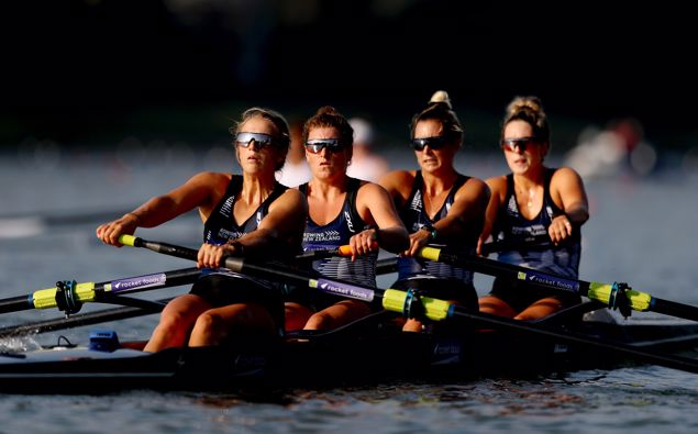 Thanks to the drop in alert levels, New Zealand rowers will have a national regatta to compete in this week. (Photo / Getty)