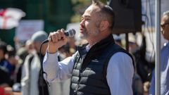 Former Freedom Party leader and anti-lockdown activist Billy Te Kahika. (Photo / File)