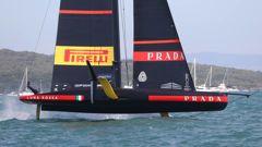 Luna Rossa won the series 7-1. (Photo / NZ Herald)