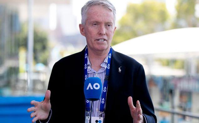 Craig Tiley, CEO of Tennis Australia. (Photo / AP)