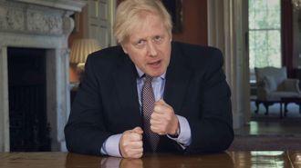 Boris Johnson full of optimism for Britain's recovery from devastating virus