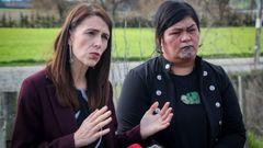 Jacinda Ardern and Nanaia Mahuta. (Photo / NZ Herald)