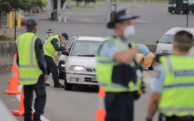 The Auckland border has popped up once again. (Photo / NZ Herald)