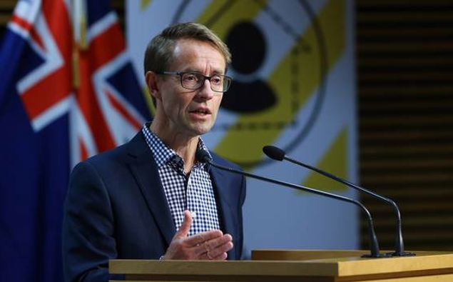 Director-General of Health Ashley Bloomfield. (Photo / NZ Herald)