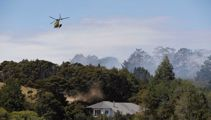 10 homes evacuated as crews battle fire on Auckland's North Shore