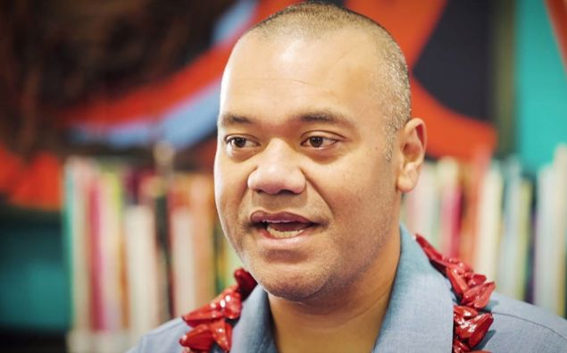 Efeso Collins revealed today he had received a number of angry messages from disgruntled south Aucklanders on social media attacking him for his pro-vaccine stance. Photo / Michael Craig