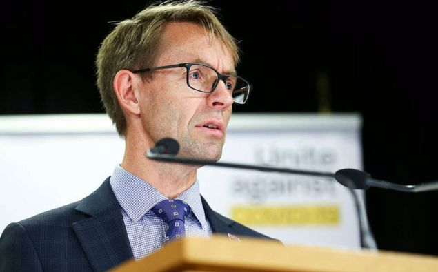 Dr Ashley Bloomfield. (Photo / NZ Herald)