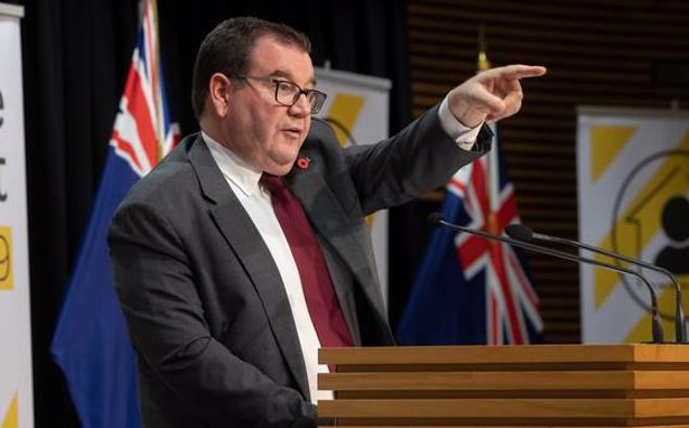 Finance Minister Grant Robertson. (Photo / NZ Herald)