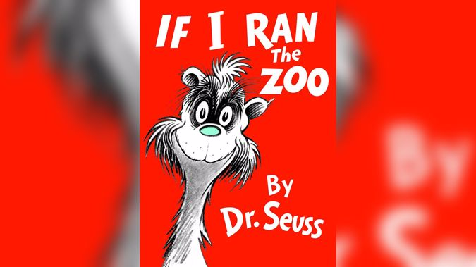 If I Ran the Zoo is one of the books being pulled. (Photo / via cnn)