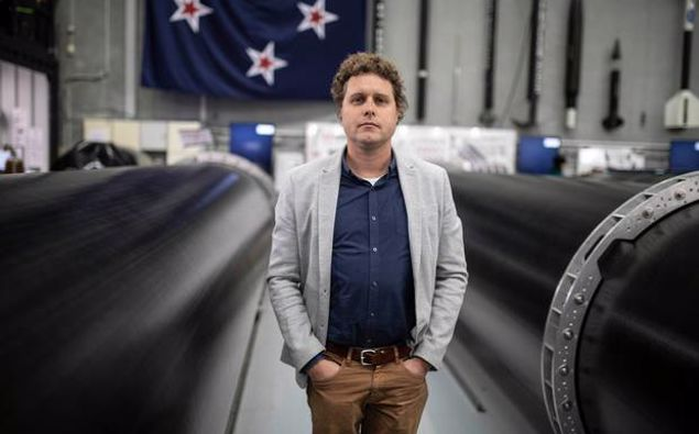 Rocket Lab founder Peter Beck. (Photo / Supplied)